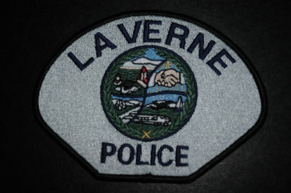 La Verne Police Department Police Patches Police Police Department
