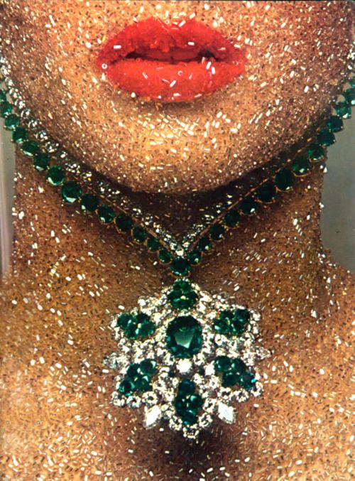 Bejewelled. Vogue Paris