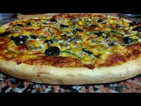 طريقة عمل عجينة قطنية ذهبية للبيتزا والفطاير وكافة انواع المعجنات بدقة Hd Youtube Recipes Cooking Easy Homemade Pizza