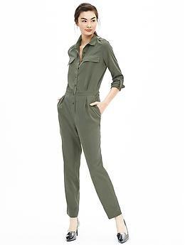 12010a6c615 Green Jumpsuit