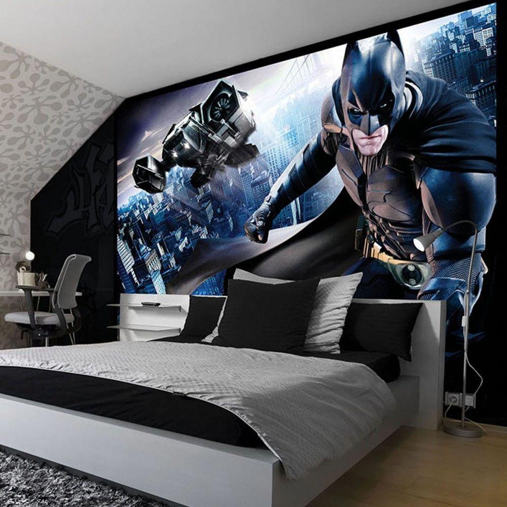 Batman Bedroom Wallpaper Uk Bedroomideas Batman Kids Rooms