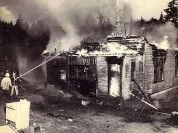 Miss Maudes House Burning Down Is A Symbol Of Loss And What Comes From It Small House Fire Boo Radley