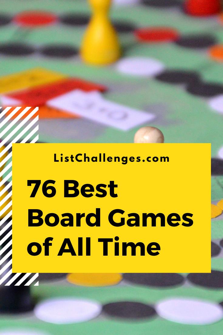 games ranker board best