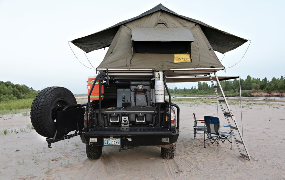 CARGO STORAGE FOR FEATURED IN OUTDOORX4 MAG Truck