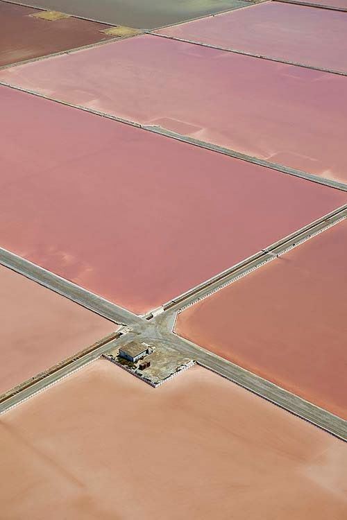 exercicedestyle:  Aerial view of the saltworks - Ibiza, Spain (by Xavier Duran)