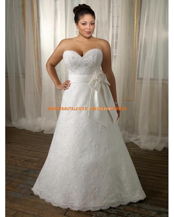Schöne Elegante Brautkleider 2013 aus Spitze mit Schärpe | Dream ...