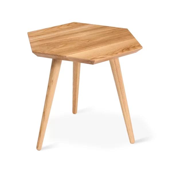Metric End Table All modern furniture, Geometric side