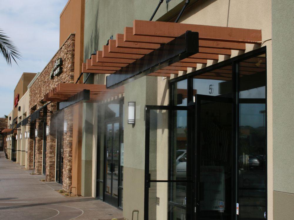 Http Www Koolfog Com For Business Retail Center Misting