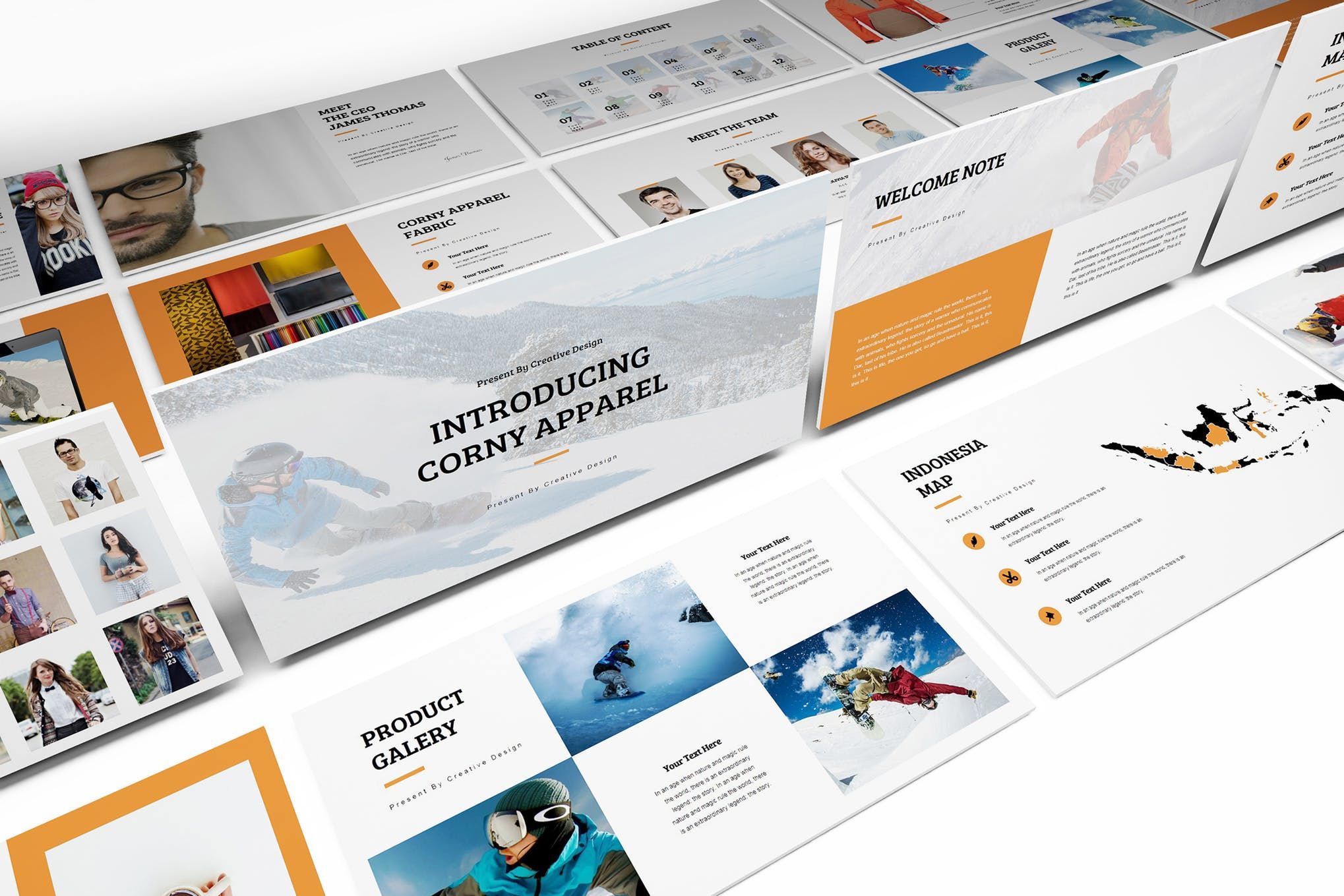 Cover Image For Apparel Product Launching Powerpoint Template