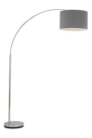 Buy Large Curve Arm Floor Lamp From The Next Uk Online Shop Floor Lamp Curved Arm Floor Lamp Modern Floor Lights