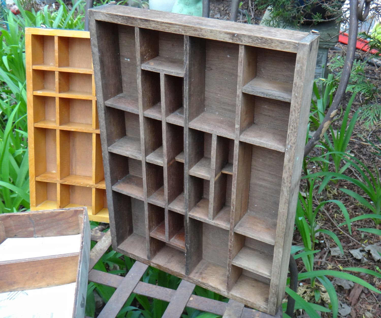 Cubby Knick Knack Shelf Wooden Shelf Curio Cabinet Man Cave