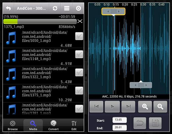 How To Get Duration Of Audio File In Android