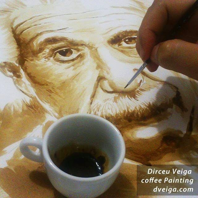 Coffee Art by Dirceu Veiga