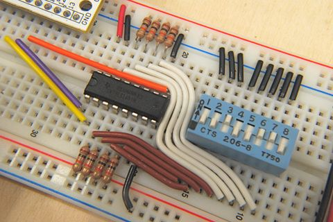 How to Use a Breadboard | Electrónica, Proyectos ... Wiring Without A Breadboard on wiring a battery, wiring a mosfet, wiring a breakout board, wiring a box, wiring a lcd, wiring a circuit board, wiring a relay, wiring a hot plate, wiring a voltmeter, wiring a switch, wiring a potentiometer, wiring a speaker,