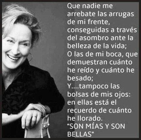 De Reflexión De La Vida Diaria Frases De Meryl Streep