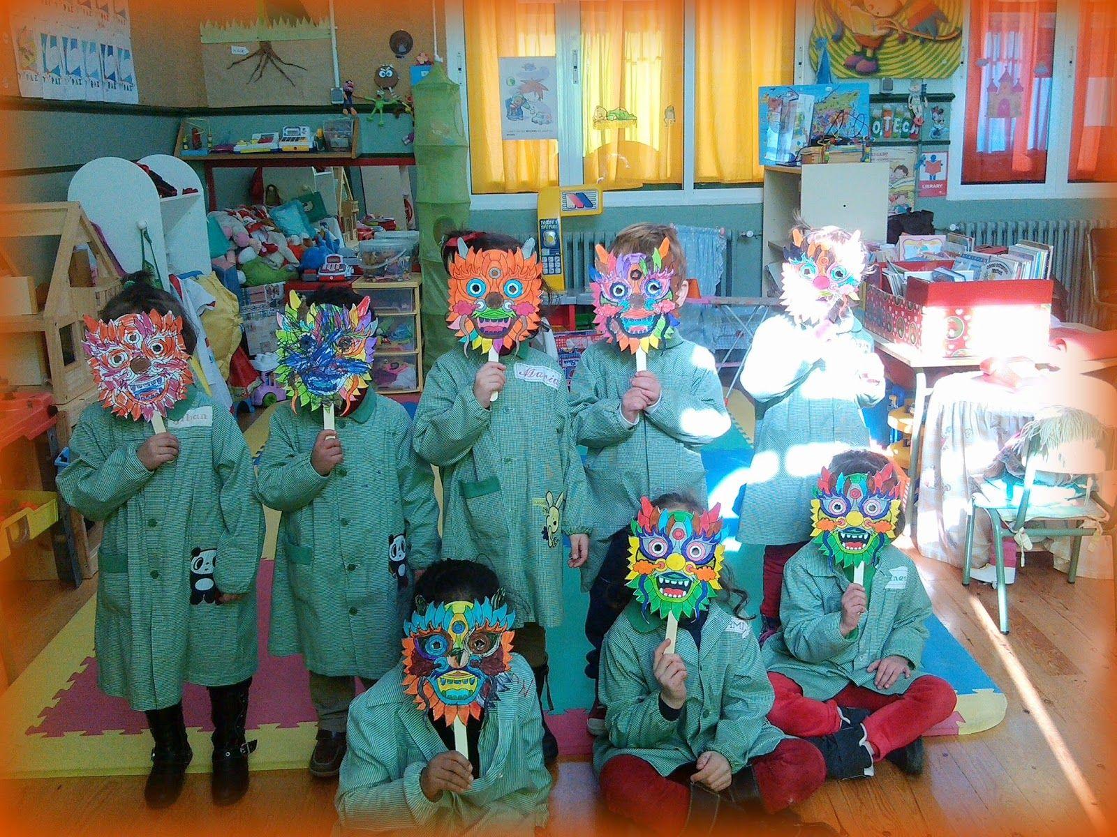 Qué puedo hacer hoy?: Máscaras y palillos | China: actividades para ...