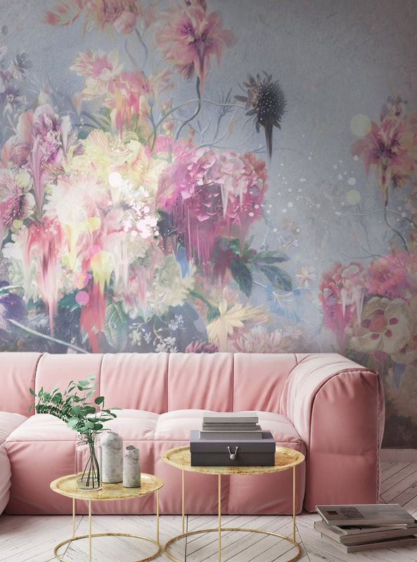 Room Inspiration Back To The Wall Wall Design Mural Wallpaper Home Wallpaper
