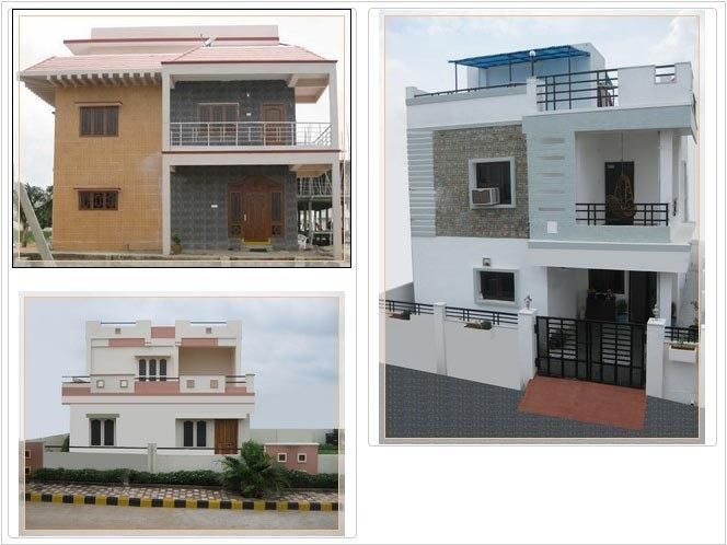 Amazing architectural duplex house design with wonderful for Duplex house models