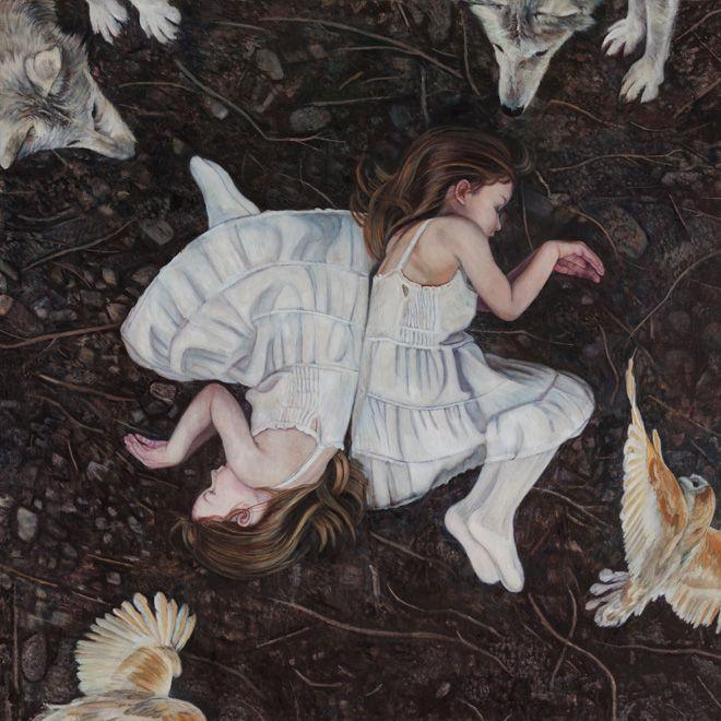 Christer Karlstad #art #painting #animals #dystopian