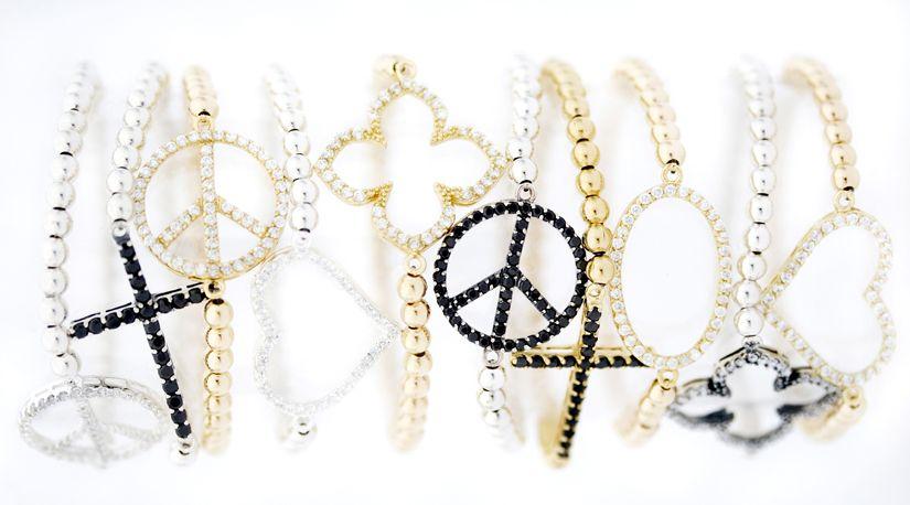 Martha Calvo - Joolz - CZ Bead Bracelets - Assorted