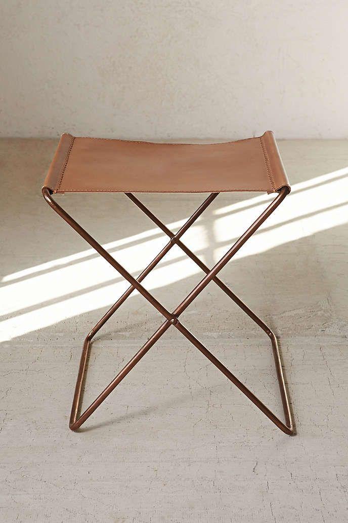 Strange Leather Sling Stool Home Sweet Haven Leather Stool Spiritservingveterans Wood Chair Design Ideas Spiritservingveteransorg