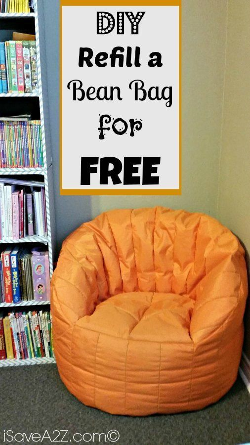 Marvelous Refill A Bean Bag For Free Simple Diy Project Kids Bean Inzonedesignstudio Interior Chair Design Inzonedesignstudiocom