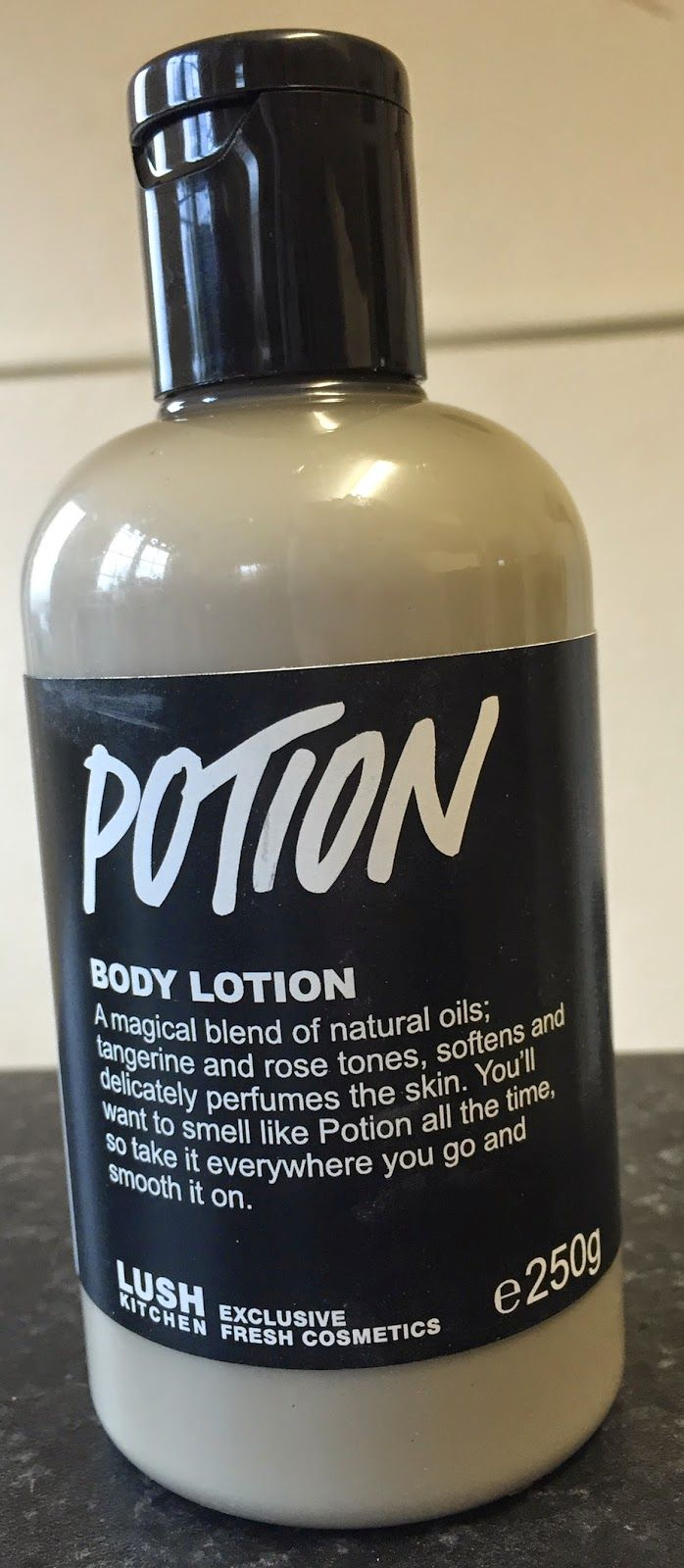 All Things Lush Uk Potion Body Lotion Lush Products I Tried But