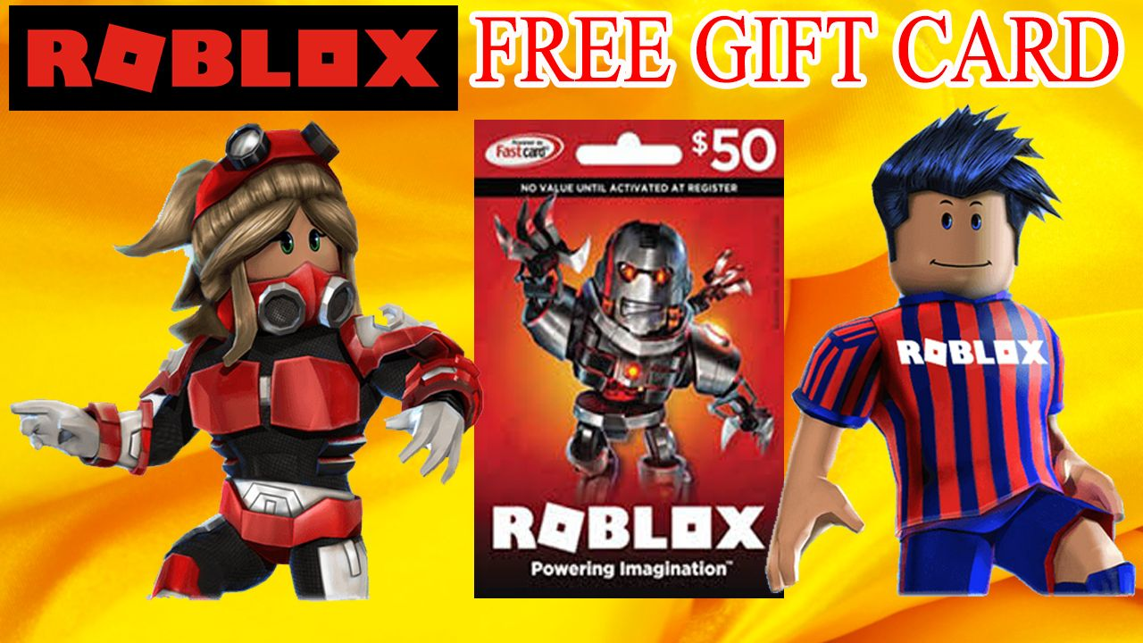 How to get free robux free roblox gift card codes 2018