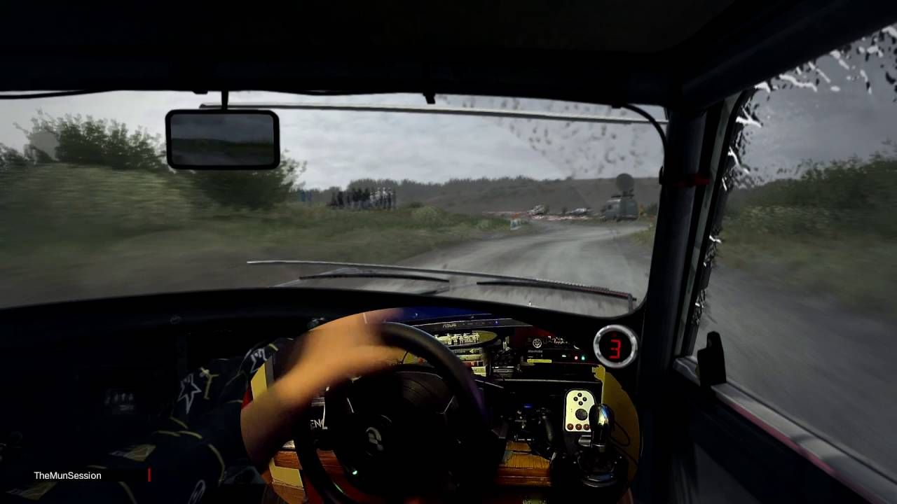 DiRT Rally Simulator MINI Cooper S cv Action Cam Prueba Scratch