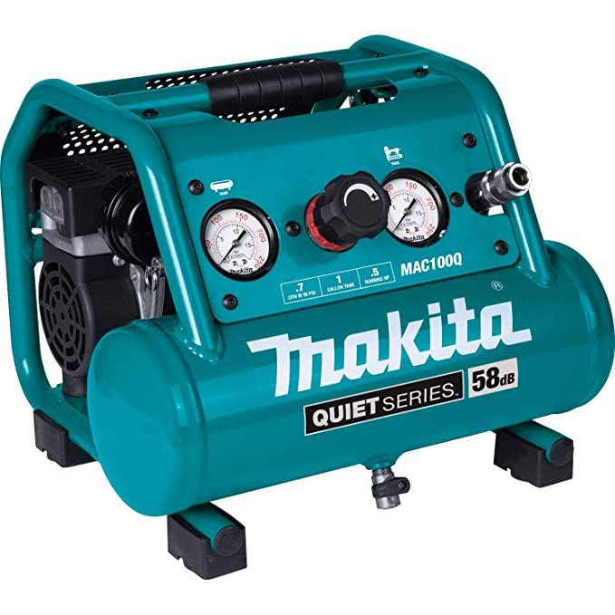 Makita MAC100Q Quiet Series, 1/2 HP, 1 Gallon