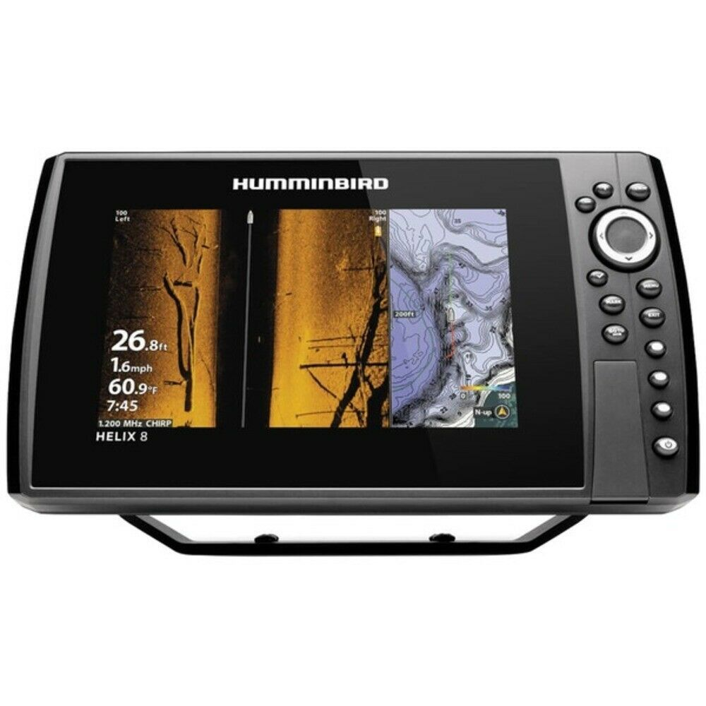 Ebay Sponsored New Humminbird 410830 1 Helix 8 Chirp Mega Si Gps G3n Fishfinder With Bluetooth Humminbird Gps Fish Finder