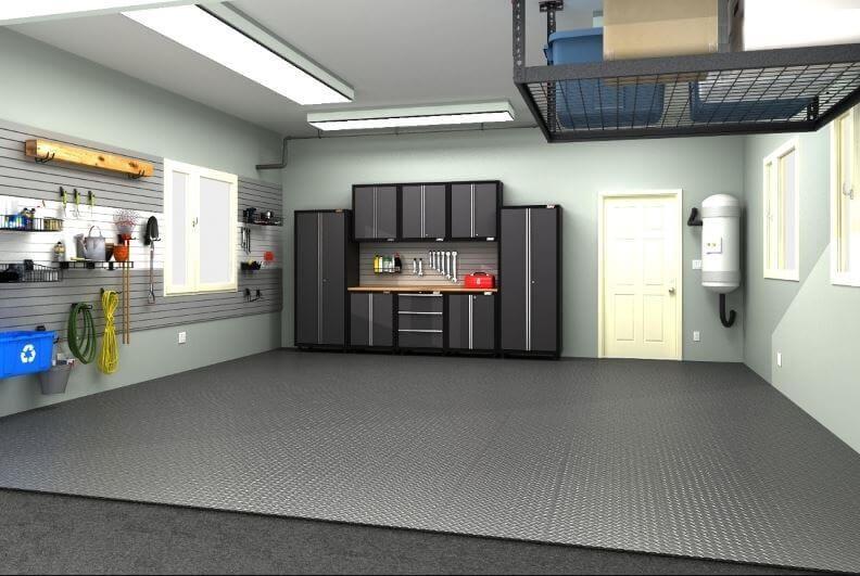 Concrete Garage Floor Paint Ideas Garage Design Interior Garage Design Garage Interior