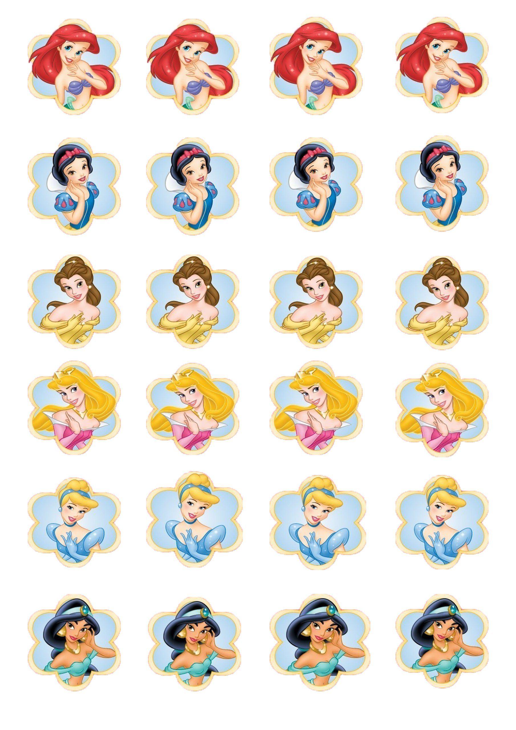 disney princess cake toppers uk