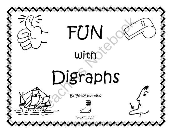 FUN with Digraphs from TheSpecialtyShop on