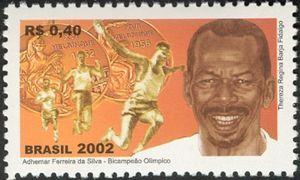Adhemar Ferreira da Silva, Olympic Gold Medalist 1952 & 1956