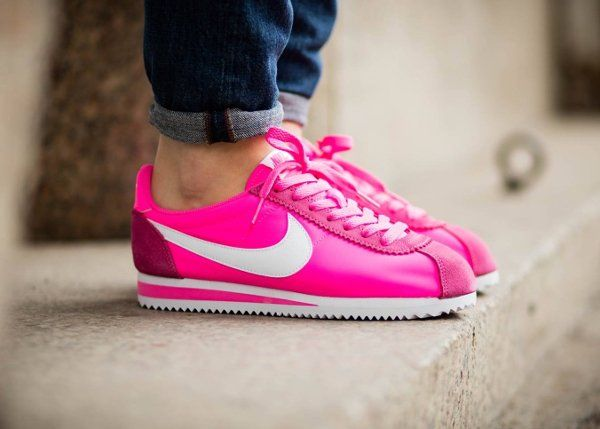 huge selection of 953f7 c442a Nike Cortez Nylon 15 (femme)