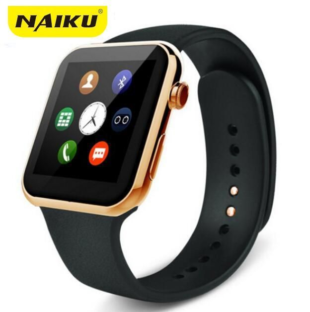 bf8f1d8dc16 NAIKU Smartwatch A9 Bluetooth Smart watch for Apple iPhone IOS Android  Phone relogio inteligente reloj Smartphone Watch 2015 New