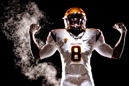 Asu Athletics Unveils New Logo Brand Uniforms Nike Sports