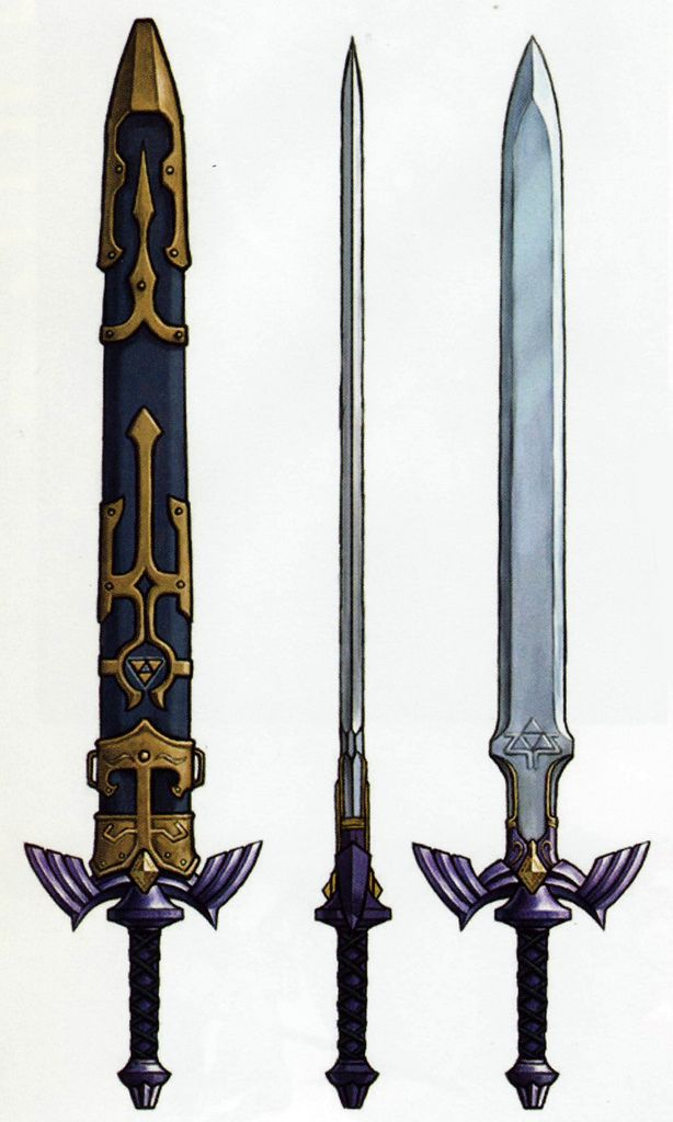The Legend Of Zelda Twilight Princess Link S Master Sword Wow