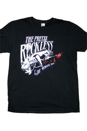 dc961eeea80 Medicine Tour Tee T-Shirt - The Pretty Reckless T-Shirts - Online Store on  District Lines