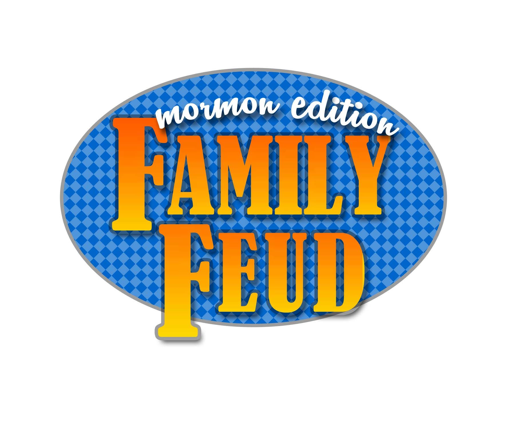 Family Feud Logo Family feud game, Family feud, Lds