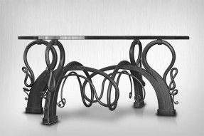 Attrayant Custom Made Coffee Table Art Nouveau Style. Cool