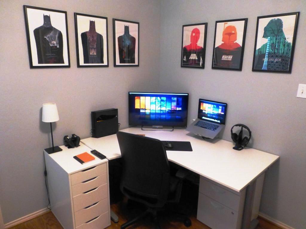 amusing interesting ikea equipped office desks news on corner best desk black computer digital home be