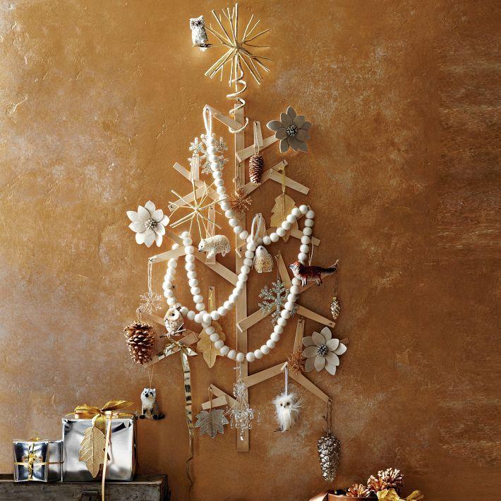 Diy christmas tree vintage ornament display use popsicle ice diy christmas tree vintage ornament display use popsicle ice cream stick shims solutioingenieria Image collections