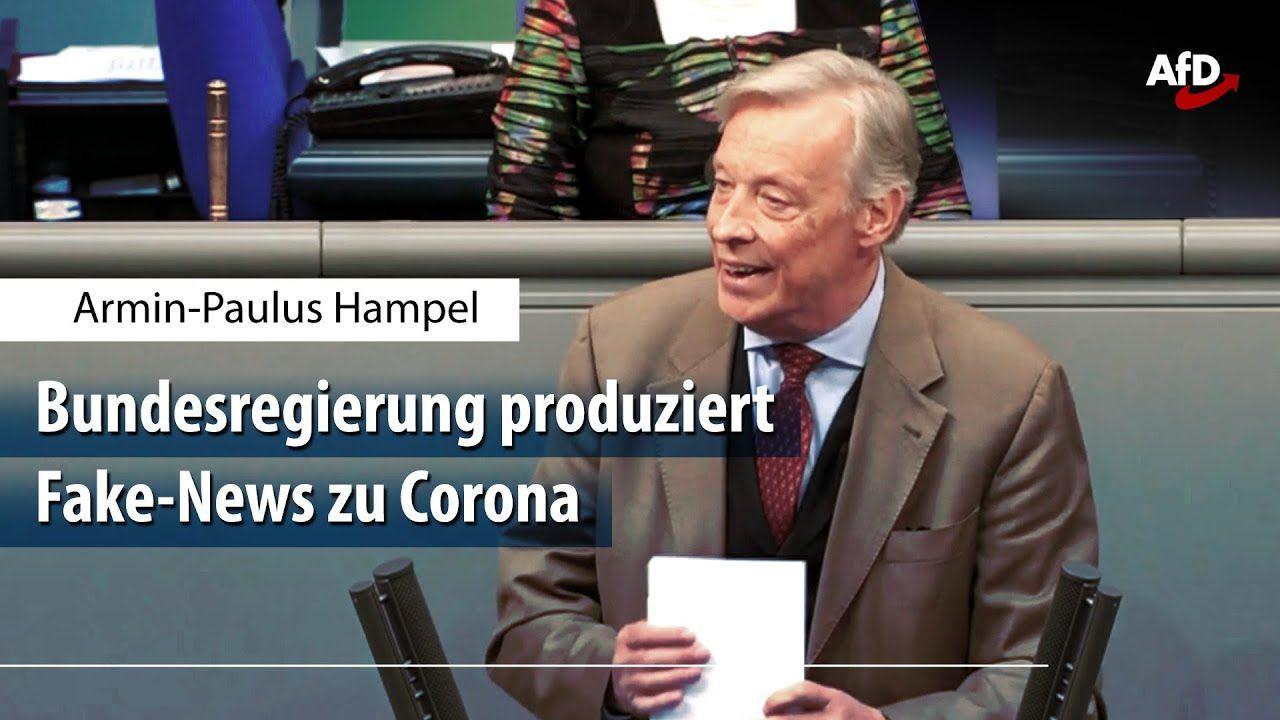 Armin Hampel Zum Skandal Um Das Corona Papier Aus Dem Innenministerium