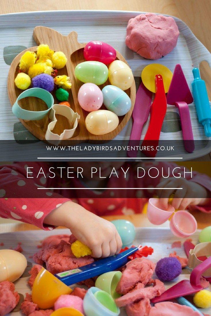 Easter Playdough Kit Easter Loose Parts Easter Sensory Kit Easter Playdoh Kit