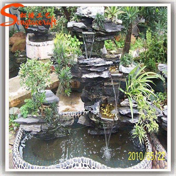 Resultado de imagen para fuentes para jardines pequeños FUENTE