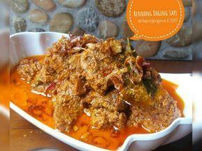 Resep Rendang Daging Sapi Oleh Dapurjengeva Resep Resep Resep Masakan Indonesia Resep Masakan Asia
