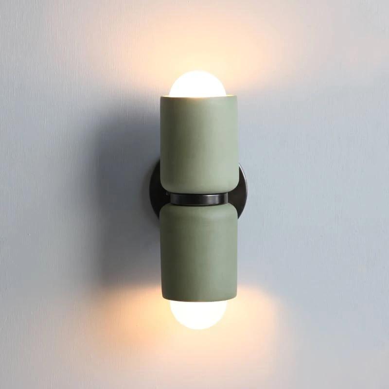 Terra 2 Wall Light In 2020 Wall Lights Glass Lamp Base Column Lights