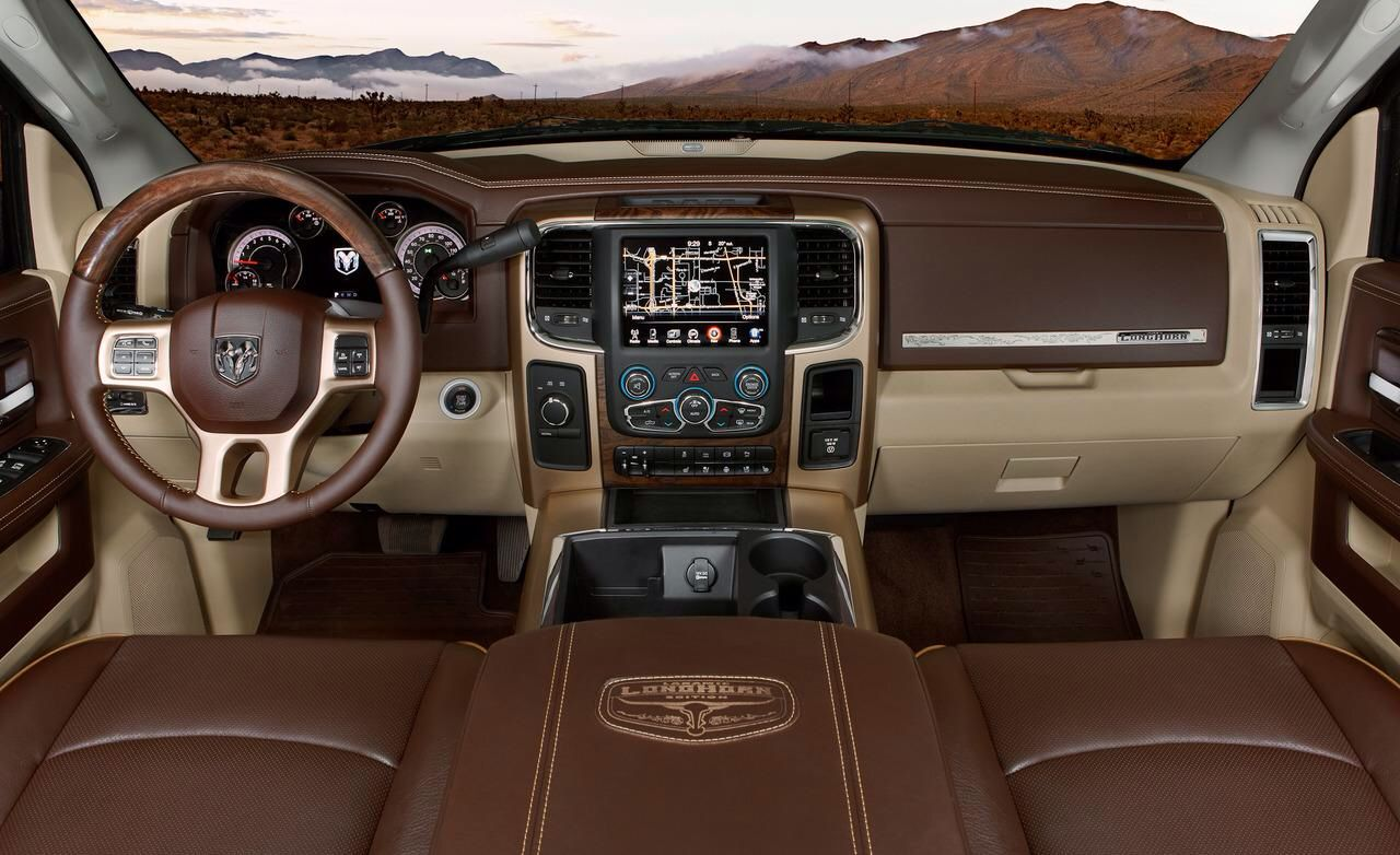 My Future Cummins Longhorn Edition Dodge Ram Truck Interior Dodge
